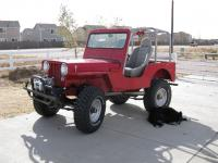 Last configuration with Bailey guarding her Willys